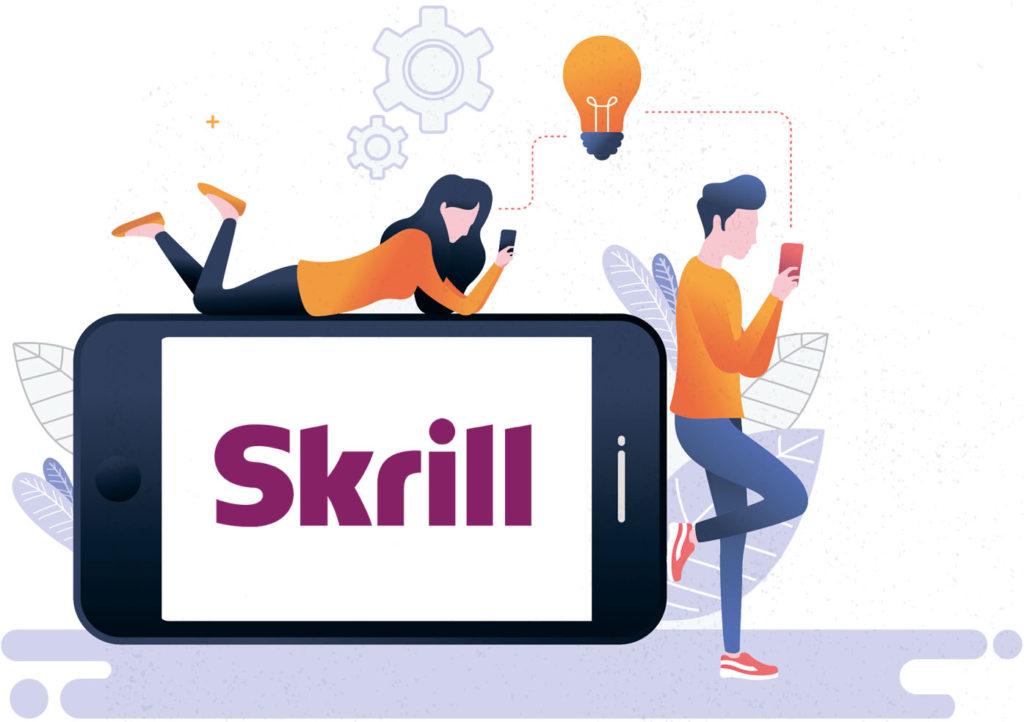 people using skrill