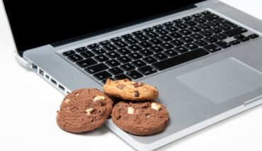 cookies and laptop