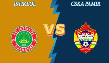 Istiklol Dushanbe vs CSKA Pamir prediction