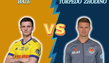 BATE vs Torpedo-BelAZ Zhodino prediction