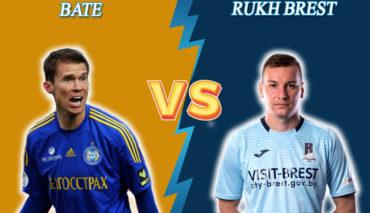 BATE Borisov vs Rukh Brest prediction