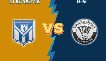 KI Klaksvik vs B36 prediction
