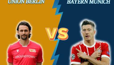 Union Berlin vs Bayern prediction