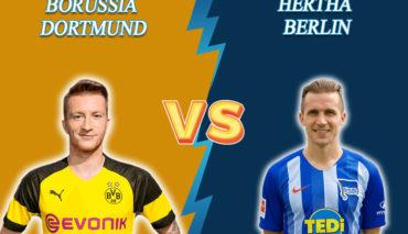 Borussia Dortmund vs Hertha prediction