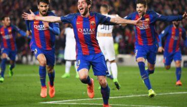 Barcelona vs PSG