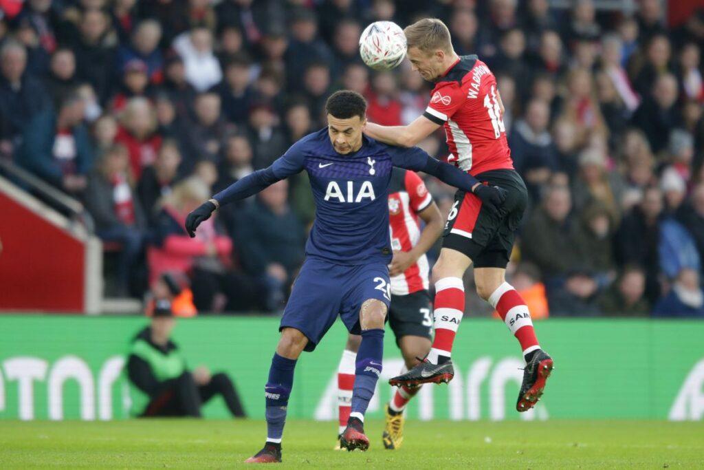 Tottenham Hotspurs vs Southampton
