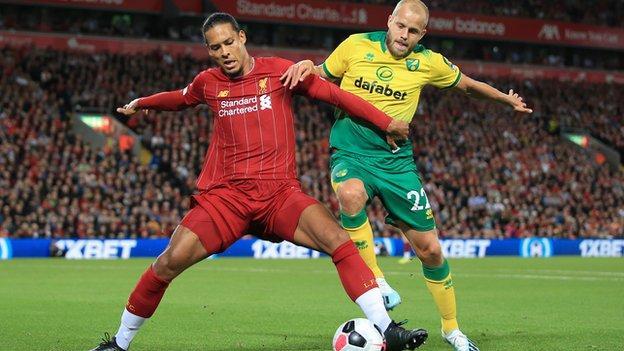 Norwich City vs Liverpool prediction