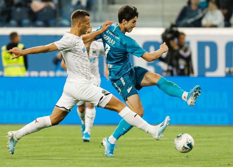 Zenit vs Krasnodar prediction