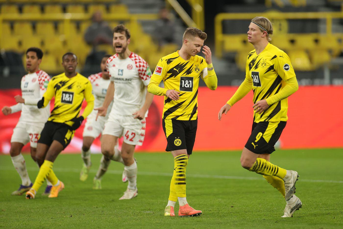 Borussia Dortmund vs Mainz prediction